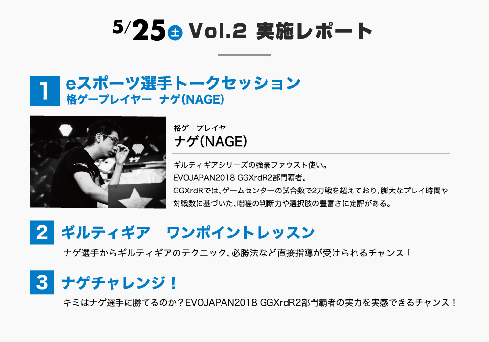 5/25(土) Vol.2 実施レポート